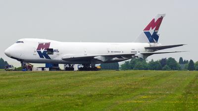 G-MKCA - Boeing 747-2B5B(SF) - MK Airlines