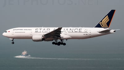 9V-SRI - Boeing 777-212(ER) - Singapore Airlines