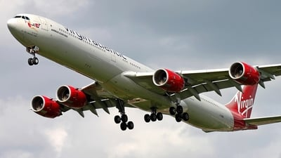 G-VWKD - Airbus A340-642 - Virgin Atlantic Airways