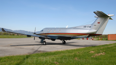 HB-FVA - Pilatus PC-12/47 - Private