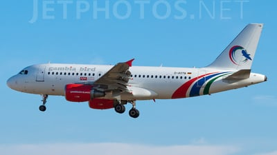 D-ASTB - Airbus A319-112 - Gambia Bird (Germania)