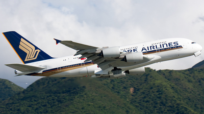 9V-SKQ - Airbus A380-841 - Singapore Airlines