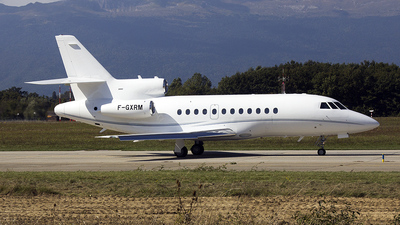 A picture of FGXRM - Dassault Aviation Mystere Falcon 900 -  - © peter adams