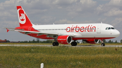 D-ABNA - Airbus A320-214 - Air Berlin