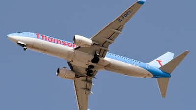G-FDZY - Boeing 737-8K5 - Thomson Airways