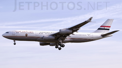 SU-GGG - Airbus A340-211 - Egypt - Government