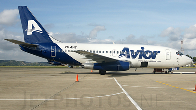YV491T - Boeing 737-2T5(Adv) - Avior Airlines