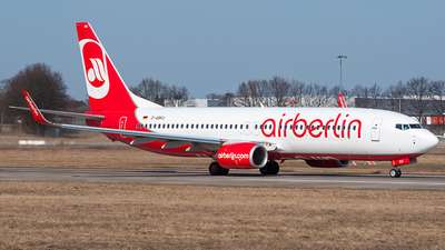 D-ABKU - Boeing 737-86J - Air Berlin