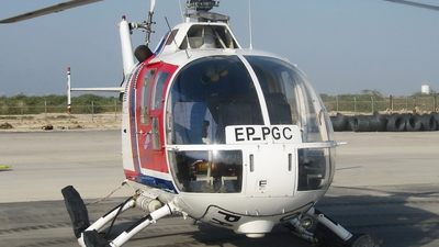EP-PGC - MBB Bo105C - Persian Gulf Aviation Service