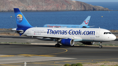G-DHJZ - Airbus A320-214 - Thomas Cook Airlines
