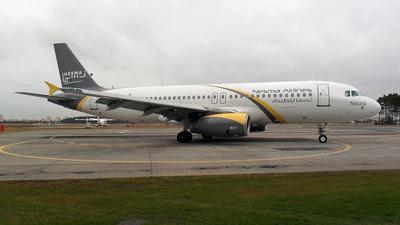 SU-NMC - Airbus A320-232 - Nesma Airlines