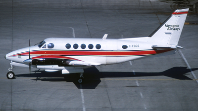C-FBGS - Beechcraft A100 King Air - Voyageur Airways