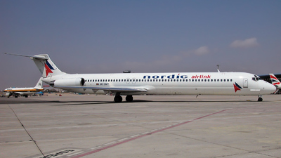SE-DMT - McDonnell Douglas MD-81 - Nordic Airlink
