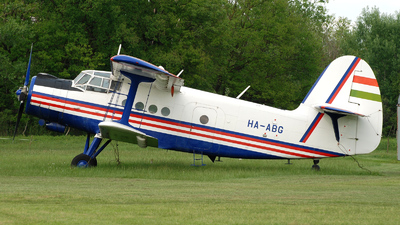 HA-ABG - Antonov AN-2 - Private
