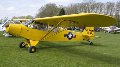 A picture of GAYPM - Piper L18C Super Cub - [181373] - © Brian Whitelegg