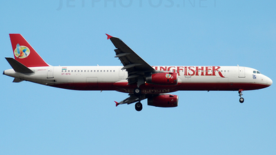 VT-KFS - Airbus A321-232 - Kingfisher Airlines