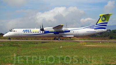 HK-4726 - Bombardier Dash 8-Q402 - Aires Colombia
