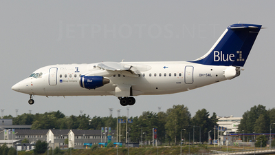 OH-SAL - British Aerospace Avro RJ85 - Blue1