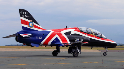 XX201 - British Aerospace Hawk T.1A - United Kingdom - Royal Air Force (RAF)