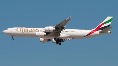 A6-ERD - Airbus A340-541 - Emirates