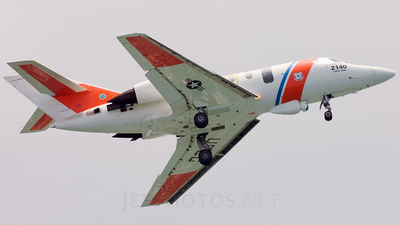 2140 - Dassault HU-25C Guardian - United States - US Coast Guard (USCG)