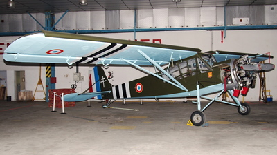 F-AZTB - Morane-Saulnier MS-505 Criquet - Private
