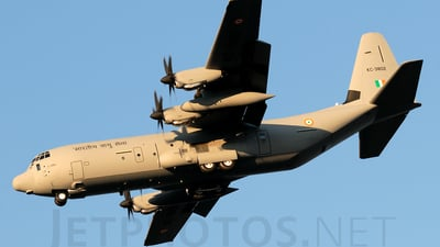 KC-3802 - Lockheed Martin C-130J-30 Hercules - India - Air Force