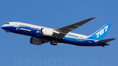 N787BX - Boeing 787-8 Dreamliner - Boeing Company