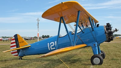 N67895 - Boeing N2S-3 Stearman - Private