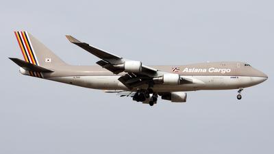 HL7604 - Boeing 747-48EF(SCD) - Asiana Cargo