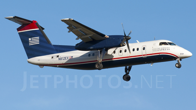 A picture of N812EX - De Havilland Canada Dash 8100 - [312] - © Andy Lomasky - Gray Goose Spotters