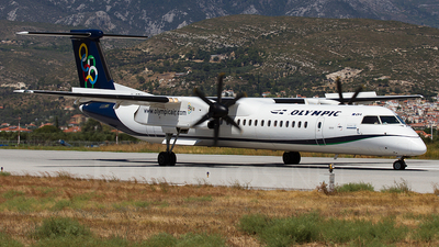 SX-OBH - Bombardier Dash 8-Q402 - Olympic Air