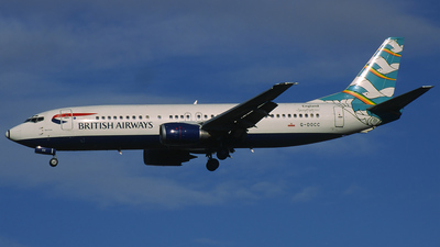 G-DOCC - Boeing 737-436 - British Airways