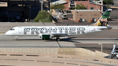N167HQ - Embraer 190-100IGW - Frontier Airlines (Republic Airlines)