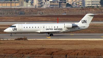 A picture of CGIXR - Mitsubishi CRJ200ER - United Nations - © Michael Sender