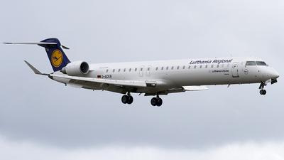 D-ACKB - Bombardier CRJ-900ER - Lufthansa Regional (CityLine)