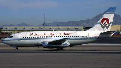 N147AW - Boeing 737-297(Adv) - America West Airlines