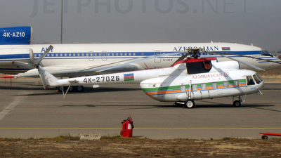 4K-27026 - Mil Mi-8PS Hip - AZAL Azerbaijan Airlines