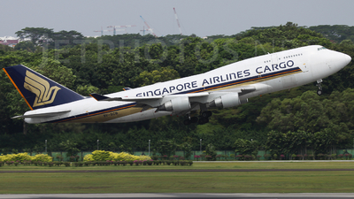 9V-SCB - Boeing 747-412(BCF) - Singapore Airlines Cargo