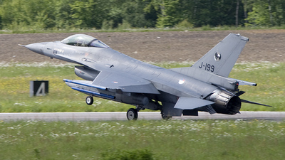 J-199 - General Dynamics F-16AM Fighting Falcon - Netherlands - Royal Air Force
