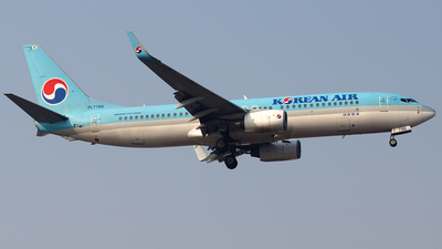 HL7786 - Boeing 737-8Q8 - Korean Air