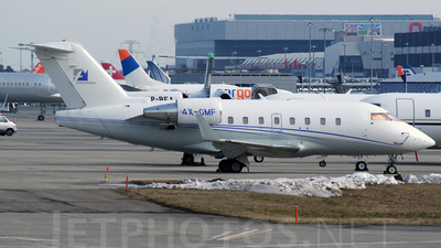 4X-CMF - Bombardier CL-600-2B16 Challenger 604 - Noy Aviation