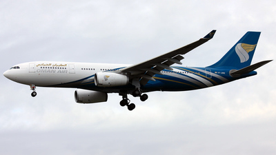 VT-JWE - Airbus A330-243 - Oman Air (Jet Airways)