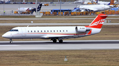 4L-GAF - Bombardier CL-600-2B19 Challenger 850 - Georgian Airways (AirZena)