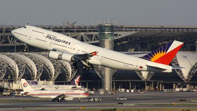 RP-C8168 - Boeing 747-4F6 - Philippine Airlines