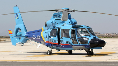 EC-JDQ - Eurocopter AS 365N3 Dauphin - Spain - Customs