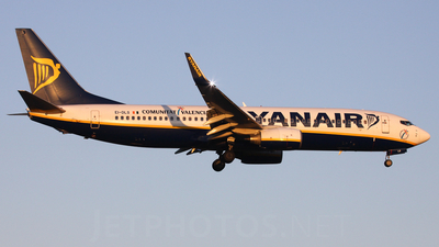 EI-DLS - Boeing 737-8AS - Ryanair