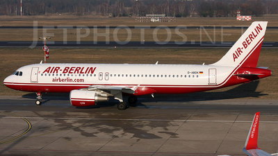 D-ABDK - Airbus A320-214 - Air Berlin