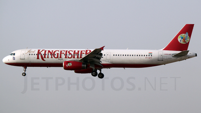 VT-KFY - Airbus A321-232 - Kingfisher Airlines