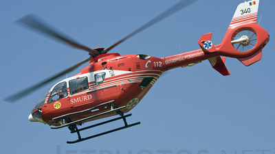 340 - Eurocopter EC 135T2 - Romania - Emergency Rescue Service (SMURD)
